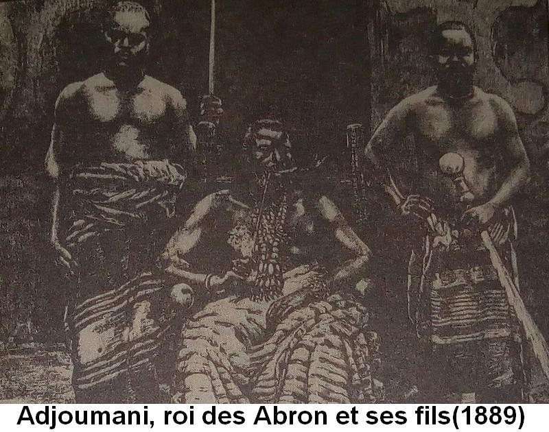 Adjoumani roi des abron